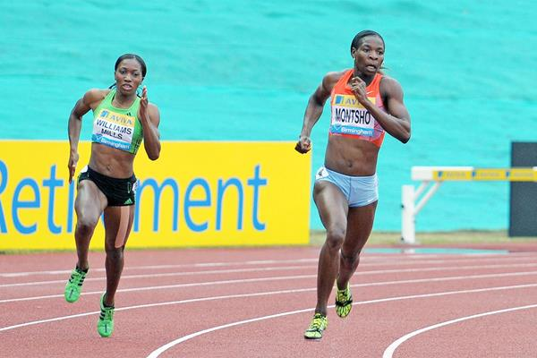 Amantle Montsho takes another good 400m win at the Birmingham Diamond League  (Mark Shearman)