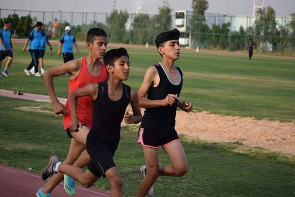 Kids Mile Run in Baghdad (Organisers)