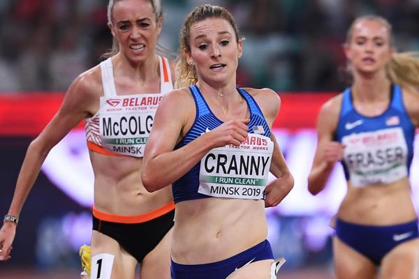 US distance runner Elise Cranny (Getty Images)