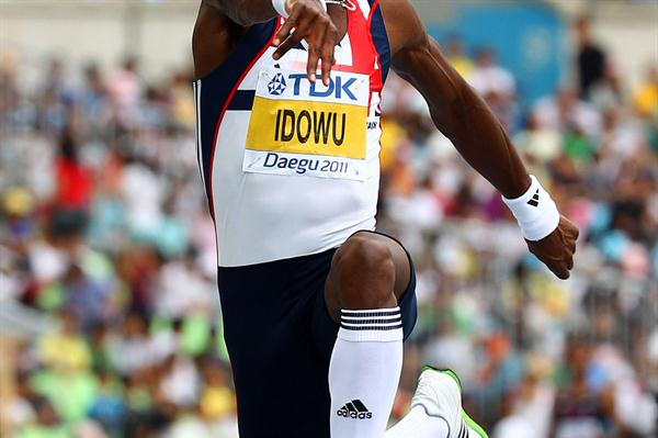 Phillips Idowu automatically advances to the Triple Jump final (Getty Images)
