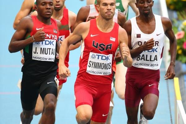 Nick Symmonds in the men's 800m at the IAAF World Athletics Championships Moscow 2013 (Getty Images)