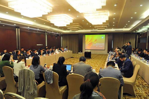 The IAAF Coordination Commission's visit to Beijing (Organisers)