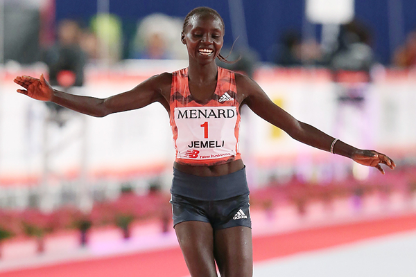 Kenyan distance runner Valary Jemeli Aiyabei (AFP / Getty Images)