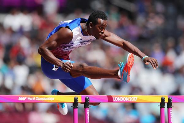 Cuban sprint hurdler Roger Iribarne (Getty Images)