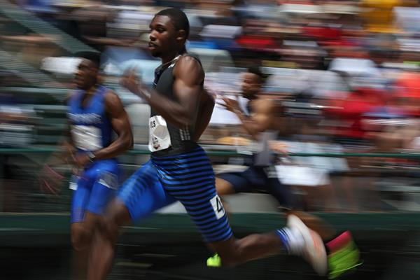US sprinter Noah Lyles (Getty Images)