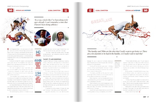 IAAF Yearbook 2014 (IAAF)