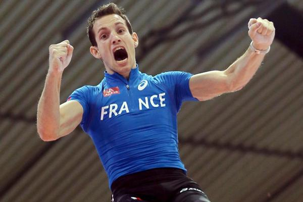 Renaud Lavillenie reigns supreme in the Pole Vault at the European Indoor Championships (Getty Images)