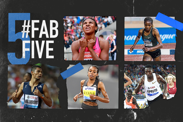 Fab five: African Diamond League stars (IAAF)