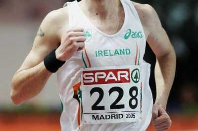 Alistair Cragg (IRL) men's 3000m in Madrid (Getty Images)