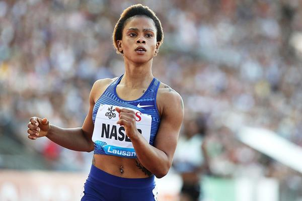 Another IAAF Diamond League 400m win for Salwa Naser, this time in Lausanne (Giancarlo Colombo)