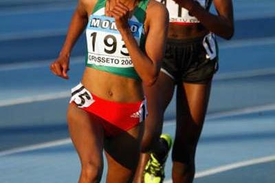 Meselech Melkamu of Ethiopia wins 5000m in Grosseto (Getty Images)