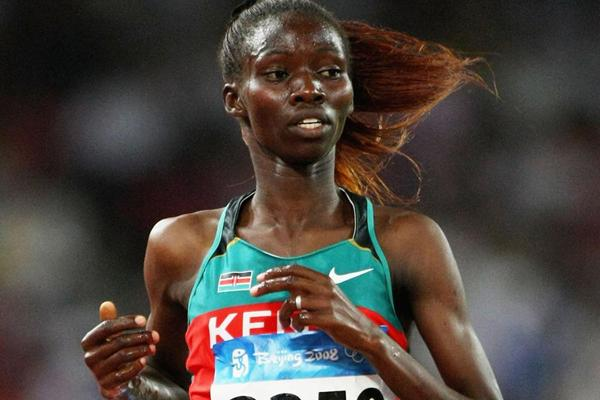 Kenyan steeplechaser Eunice Jepkorir (Getty Images)