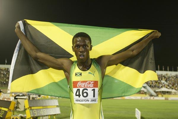 Usain Bolt in Kingston 2002 (Getty Images)