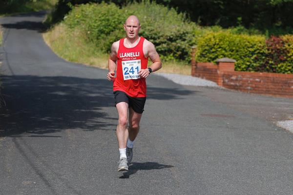 Jimmy Watkins at the Ammanford 10K ()