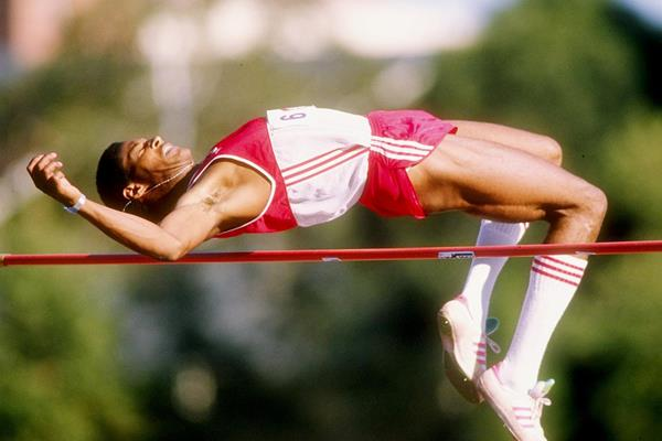 High jump world record-holder Javier Sotomayor (Getty Images)