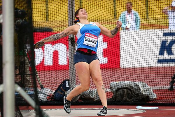 Alexandra Emilianov in the discus at the IAAF World U20 Championships Tampere 2018 (Getty Images)
