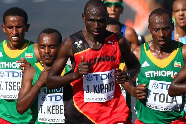 Ugandan distance runner Jackson Kiprop (Getty Images)