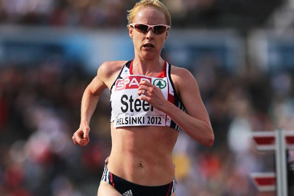 Britain's Gemma Steel in the 10,000m at the 2012 European Championships (Getty Images)