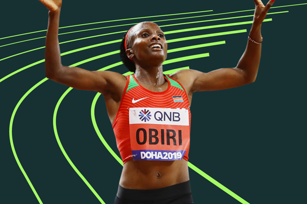 Kenya's world 5000m champion Hellen Obiri (Getty Images)