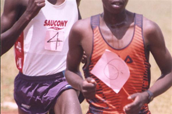 Hosea Macharinyang victorious at the North Rift Championships (David Macharia)