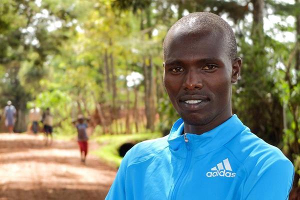 Kenyan distance runner Wilson Chebet (Organisers)