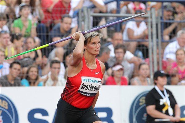 Barbora Špotáková finishes second in Ostrava (graf.cz)
