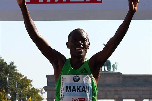 The numbers say it all! 2:03:38 World record by Patrick Makau in Berlin (Getty Images)