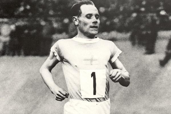 Finnish distance running legend Paavo Nurmi (Getty Images)