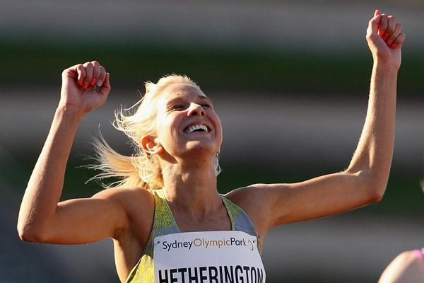 Kelly Hetherington at the 2013 Australian Championships (Getty Images)