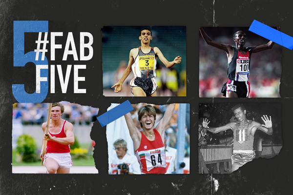 Fab five: athletics moments in Rome (Getty Images)