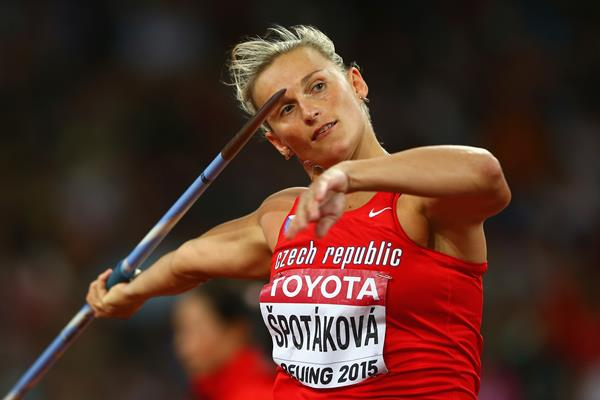 Barbora Spotakova in the javelin at the IAAF World Championships Beijing 2015 (Getty Images)