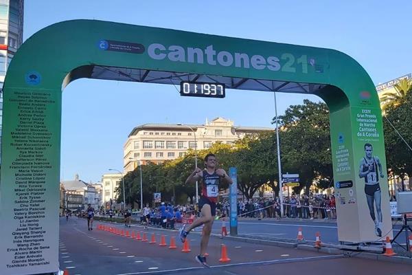 Diego Garcia wins in La Coruna (Almudena Miguez (FGA))