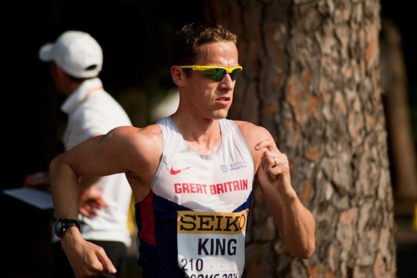 British race walker Dominic King (Jon Mulkeen)