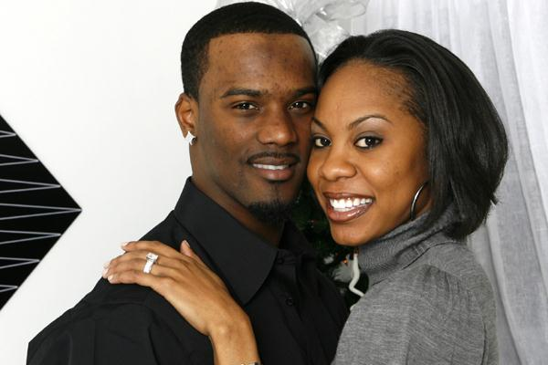 Sanya Richards And Boyfriend Aaron Ross Shows Off Engagement Ring Errol Anderson