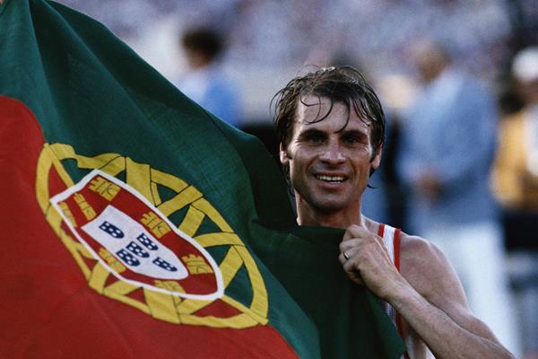 1984 Olympic marathon champion Carlos Lopes (Getty Images)