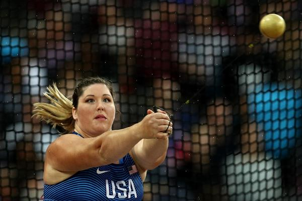 DeAnna Price at the 2017 World Championships (Getty Images)