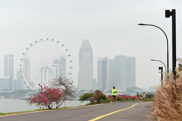 Marina Bay in Singapore (AFP / Getty Images)