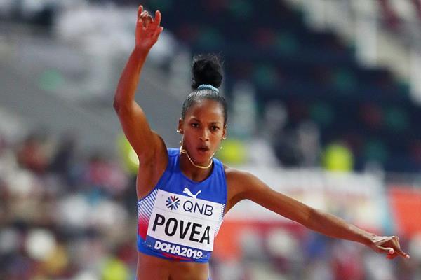 Liadagmis Povea at the IAAF World Athletics Championships Doha 2019 (Getty Images)