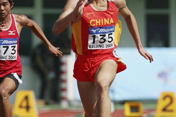 Liang Jiahong at the 2006 World Junior Championships (Getty Images)