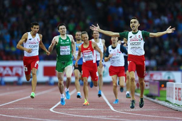 Adam Kszczot wins the 800m at the European Championships (Getty Images)