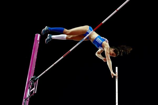 Ekaterini Stefanidi in the pole vault at the IAAF World Championships London 2017 (Getty Images)