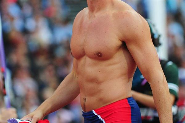 Andreas Thorkildsen of Norway competes in the Men's Javelin Throw Qualifications on Day 12 of the London 2012 Olympic Games at Olympic Stadium on August 8, 2012 (Getty Images)