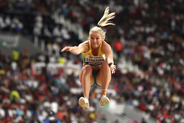 Australian long jumper Brooke Stratton (Getty Images)