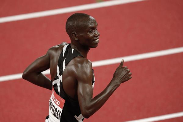 Ugandan distance runner Joshua Cheptegei (AFP / Getty Images)