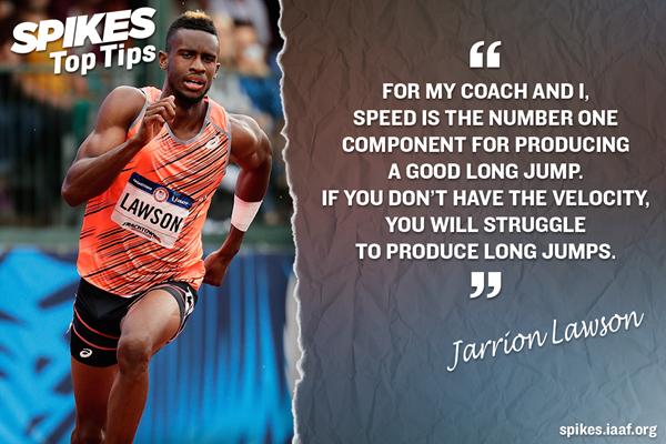 Jarrion Lawson's top tips ()