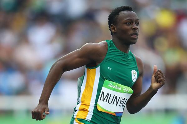Clarence Munyai in Rio (Getty Images)