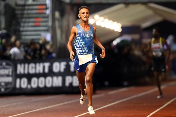 Yemaneberhan Crippa wins the European 10,000m Cup in London (Getty Images)