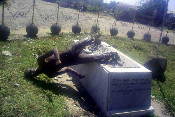 BROKEN - Abebe Bikila statue (Girum Seifu)