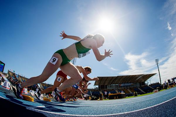 Athletes competing at the IAAF World U20 Championships (Getty Images)