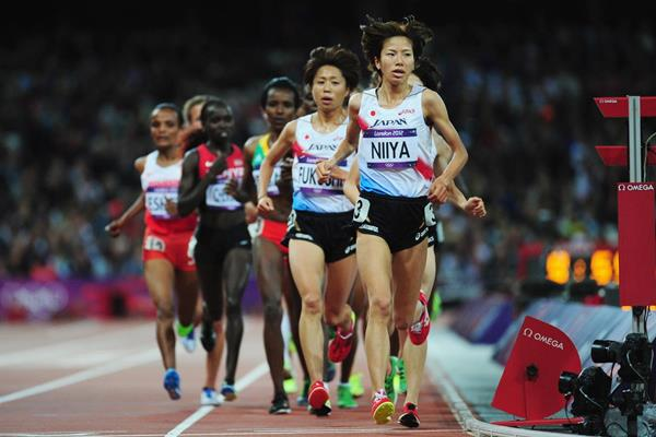 Runners in the women's 10,000m at the London 2012 Olympic Games (Getty Images)